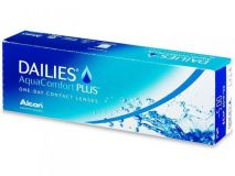 линзы Focus Dailies AQUACOMFORT PLUS (30 шт.)