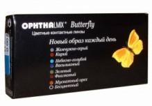цветные Офтальмикс Butterfly 1-тоновые
